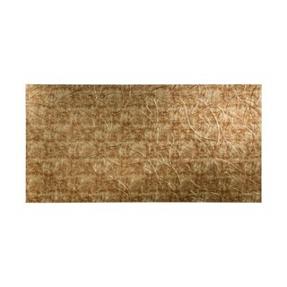 Fasade Audrey Bermuda Bronze 4-foot x 8-foot Wall Panel