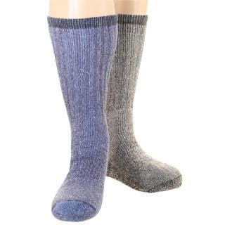 Woolrich Men's Ultimate Merino Wool Extreme Cold Socks 2pk