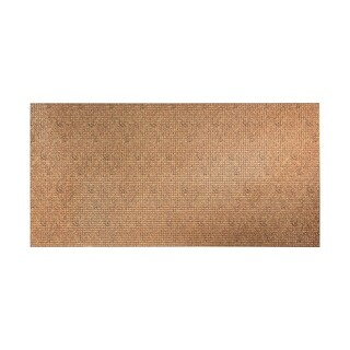Fasade Square Cracked Copper Wall Panel (4' x 8')