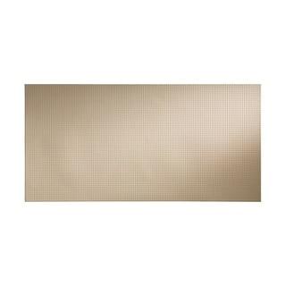 Fasade Square Almond Wall Panel (4' x 8')