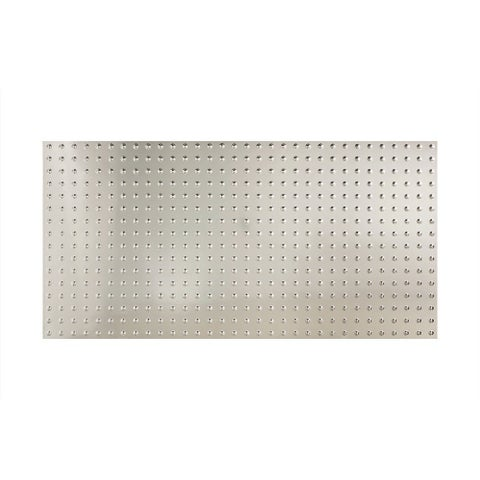 Fasade Dome Brushed Aluminum Wall Panel (4' x 8')