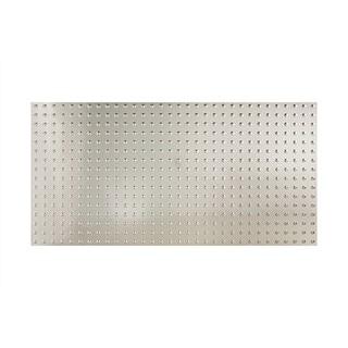 Fasade Dome Brushed Aluminum Wall Panel (4' x 8')