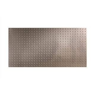 Fasade Dome Galvanized Steel Wall Panel (4' x 8')