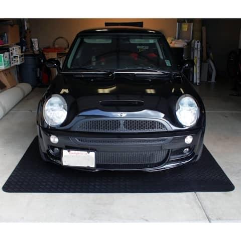 Mats Inc. Black Garage Floor Protection Utility Mat