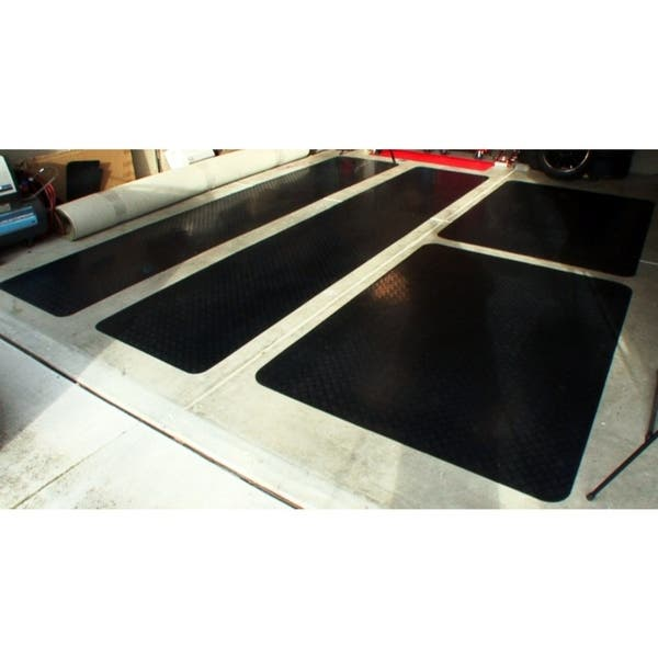 Shop Mats Inc Garage Floor Protection Utility Mat Black
