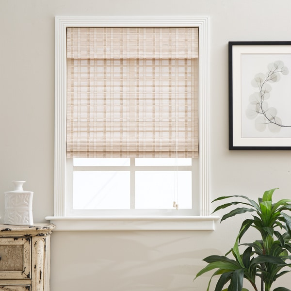 Arlo Blinds Oriental Whitewash Bamboo Blinds Free