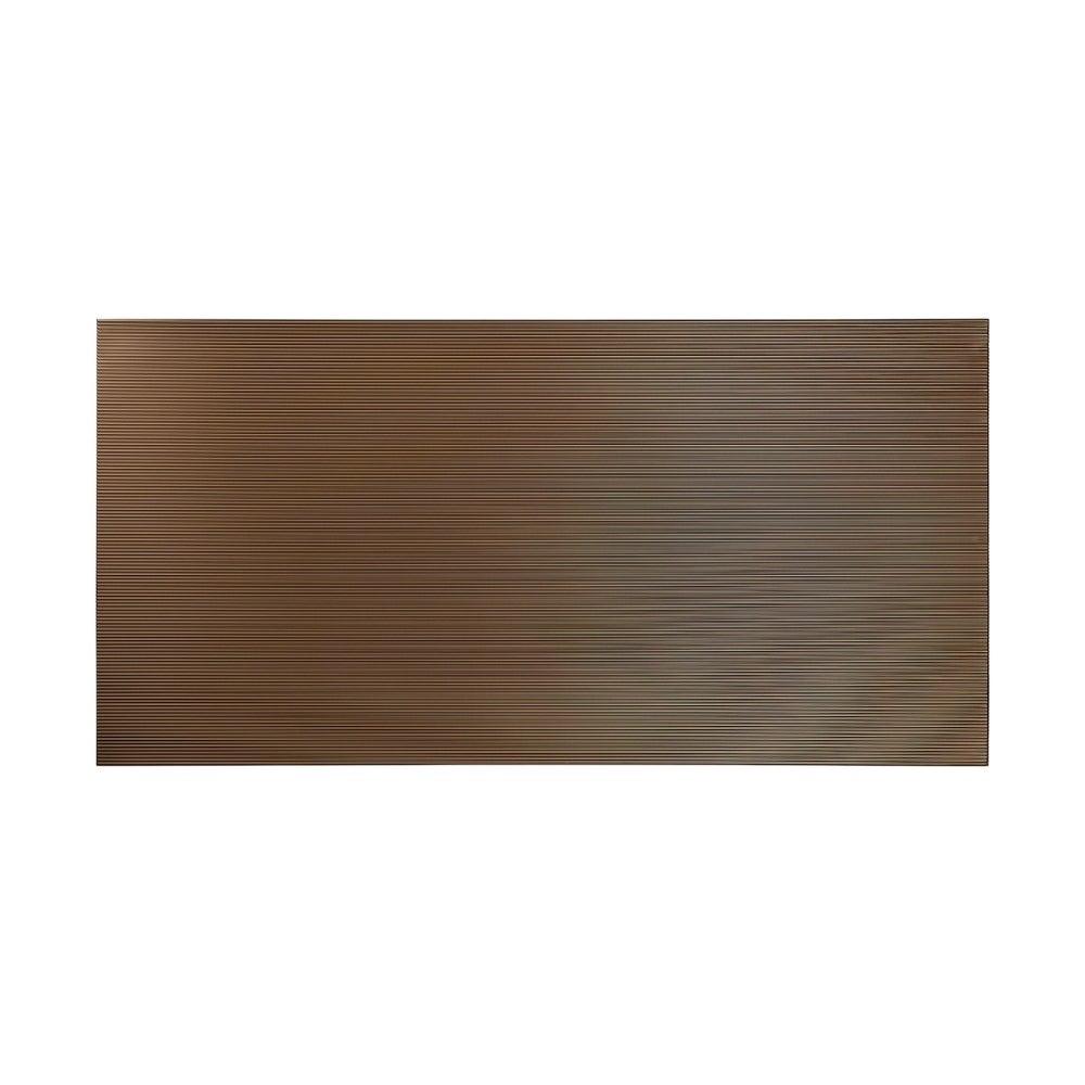 Fasade Rib Argent Bronze Wall Panel (4 x 8) (Sample)