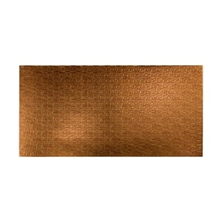 Fasade Connect Muted Gold Wall Panel (4' x 8')