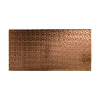 Fasade Connect Polished Copper Wall Panel (4' x 8')