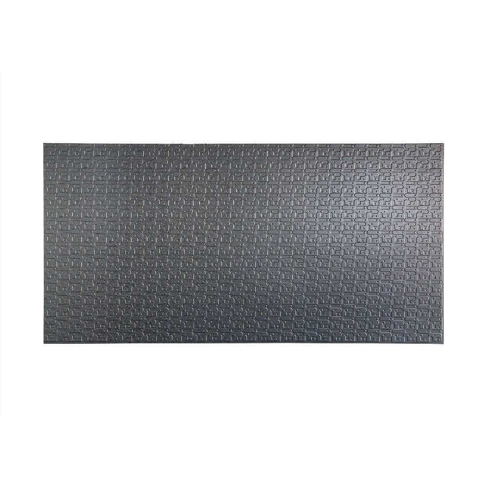Fasade Connect Galvanized Steel Wall Panel (4 x 8) (Connect Galvanized Steel Wall Panel)