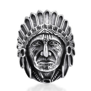 Handmade Native American Style .925 Sterling Silver Ring (Thailand)