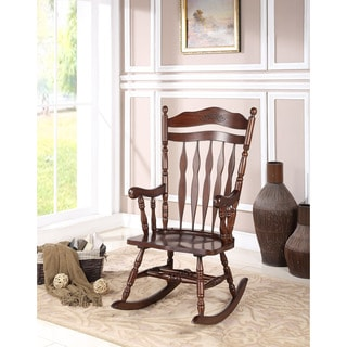 Albany Dark Walnut Rocking Chair