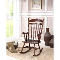 Albany Dark Walnut Rocking Chair