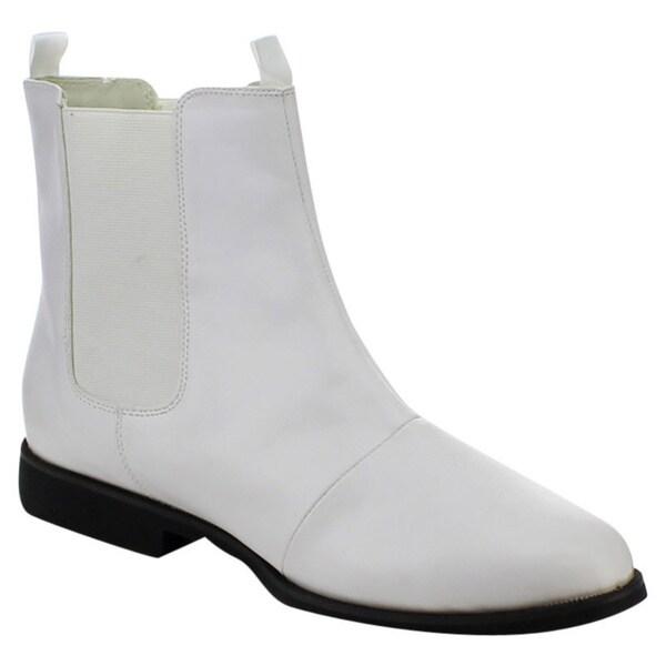 c14beaa03cb407 Shop Funtasma Trooper-12 Men's 1-Inch Flat Heel Pointed Toe Pull-On ...