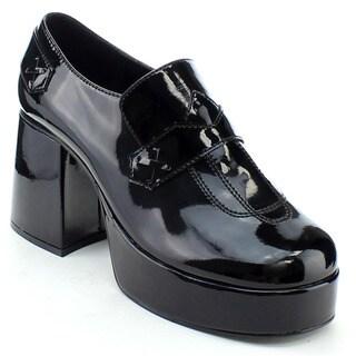 Funtasma Jazz-01 Men's 3.5 Inch Block Heel Platform Loafers