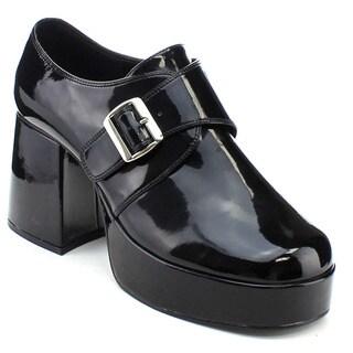 Funtasma Jazz-03 Men's 3.5 Inch Heel Platform Monk Strap Slip-On Loafers