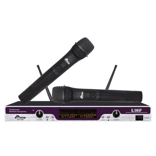 top product reviews for idolpro uhf 300 professional karaoke vocal dual wireless microphone. Black Bedroom Furniture Sets. Home Design Ideas