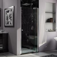 DreamLine Allure 31 to 32 in. Frameless Pivot Shower Door, Clear Glass Door