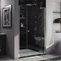 DreamLine Allure 49-50 in. W x 73 in. H Frameless Pivot Shower Door