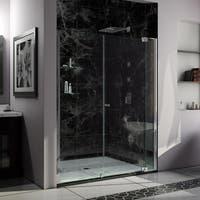 DreamLine Allure 66-67 in. W x 73 in. H Frameless Pivot Shower Door