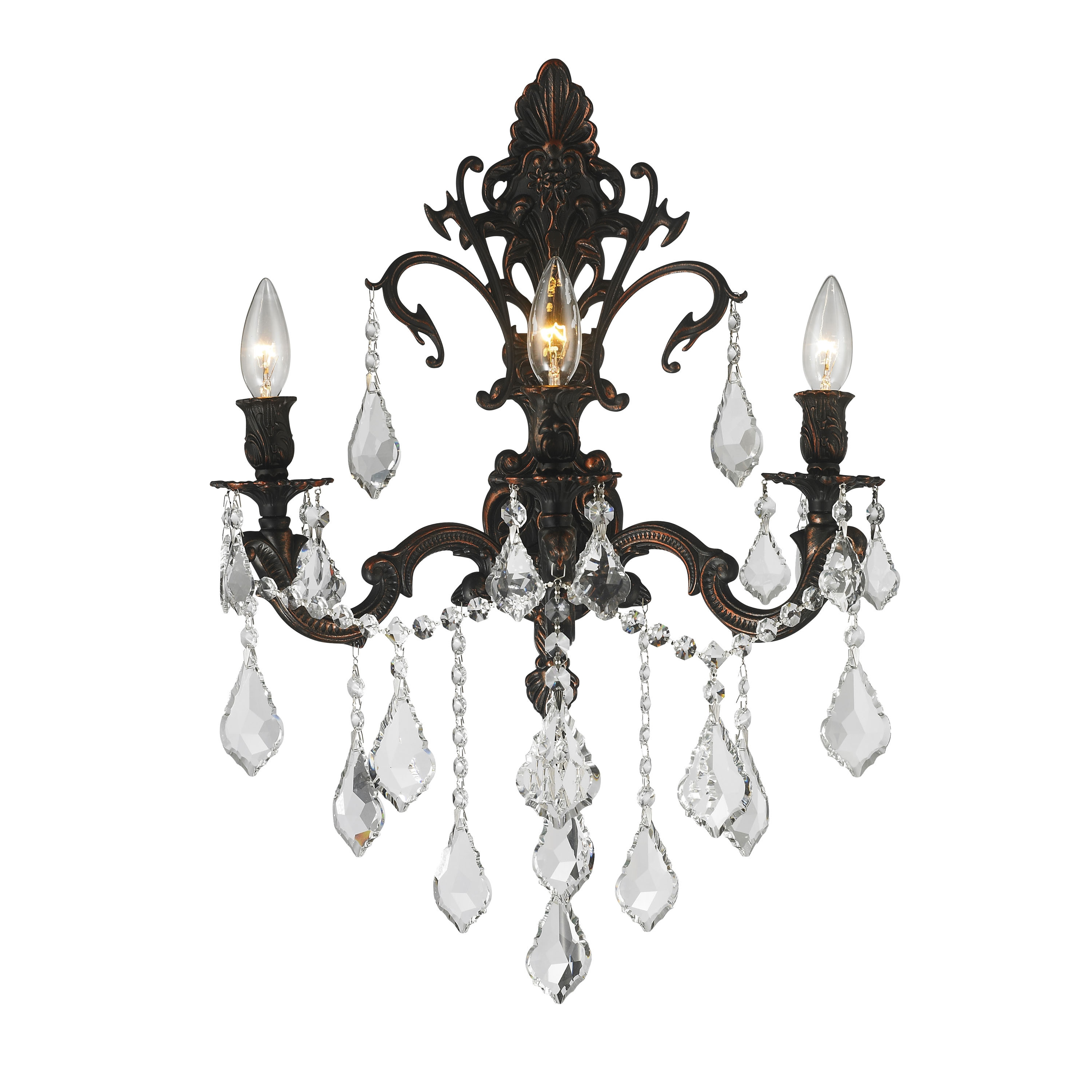 Brilliance Lighting and Chandeliers French Royal 3-light ...