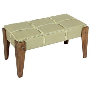 International Caravan Bradford Tufted Vanity Bench