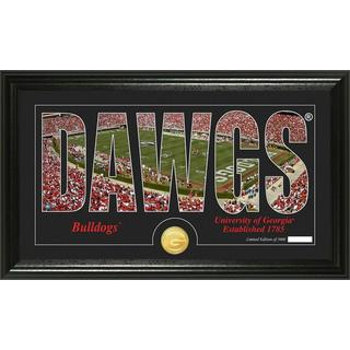 "University of Georgia ""Word Art"" Bronze Coin Panoramic Photo Mint"