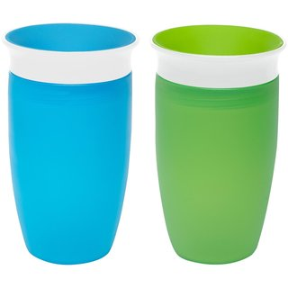 Munchkin Miracle 360 10-ounce Sippy Cup (Pack of 2)