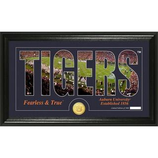 "Auburn University ""Word Art"" Bronze Coin Panoramic Photo Mint"
