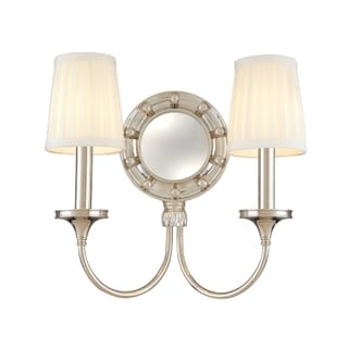 Hudson Valley Regent 2-light Polished Nickel Wall Sconce