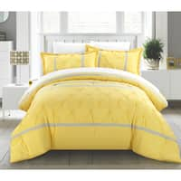 Porch & Den Fruita 7-piece Yellow Duvet Cover Set