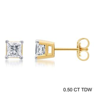 ced18d9dd0 Buy Stud Diamond Earrings Online at Overstock