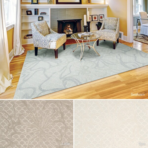 Rug Squared Monroe Floral Rug (5' x 7'6) - 5' x 7'6