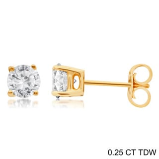 892630120 Buy 1 to 1.5 Carats Diamond Earrings Online at Overstock   Our Best Earrings  Deals