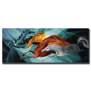 Yelena Lamm 'Gallop' Canvas Wall Art