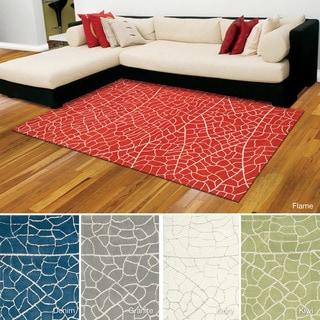 Rug Squared Monroe Abstract Rug (3'9 x 5'9)