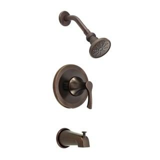 Danze D500022BRT Bronze Antioch Tub and Shower Faucet