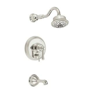 Danze D502257PNVT Nickel Opulence Tub and Shower Faucet