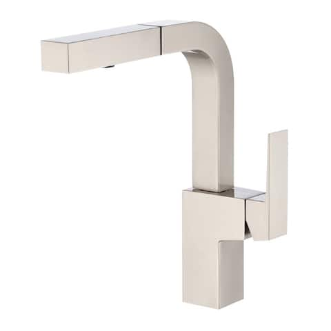 Danze Mid-Town Single Handle Pull-Out Kitchen Faucet D404562SS Stainless Steel