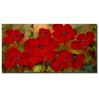 Fresh Poppies' Gallery-wrapped Canvas Art - Free Shipping Today  BN18
