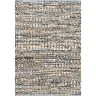 Hand-Loomed Reversible Haley Abstract Area Rug -(3'6 x 5'6)