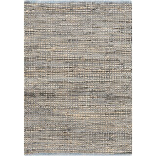 The Curated Nomad Waller Hand-loomed Reversible Abstract Stripe Area Rug (3'6 x 4'6)