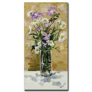 Yelena Lamm 'Daisies' Canvas Wall Art 18x24