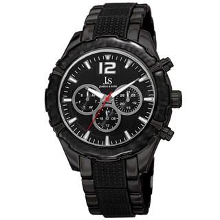Joshua & Sons Men's Swiss Quartz Multifunction Bracelet Watch (4 options available)