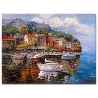 Joval 'At Sea' Canvas Wall Art