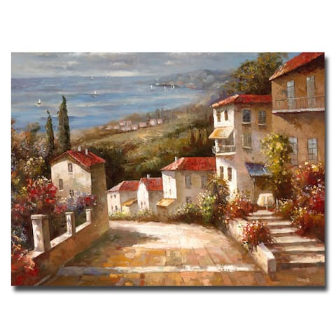 Copper Grove 'Home in Tuscany' Canvas Wall Art