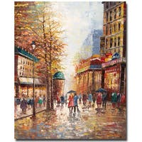Joval 'French Street' Canvas Wall Art