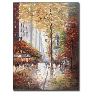 Joval 'French Street Scene II' Canvas Wall Art