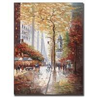 Joval 'French Street Scene II' Canvas Wall Art