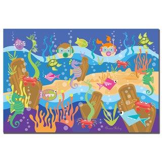 Grace Riley 'Underwater Adventures' Canvas Wall Art
